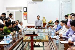 Phó Thủ tướng Trương Hòa Bình chỉ đạo khắc phục hậu quả vụ lật xe trên đèo Hải Vân