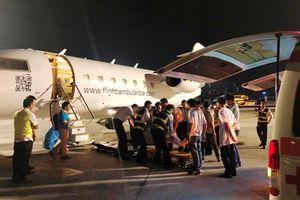 3 du khách Saigontourist trúng bom ở Ai Cập cuối cùng về tới TP HCM