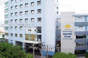 TPHCM: Không công nhận hiệu trưởng HUFLIT