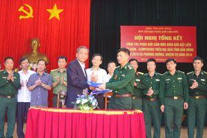 Tổng kết công tác phân giới cắm mốc biên giới đất liền tỉnh Đắk Nông năm 2018