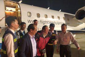 3 du khách Việt bị thương trong đánh bom ở Ai Cập đã về nước bằng chuyên cơ