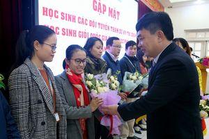 Quảng Ninh động viên 90 học sinh đi thi chọn học sinh giỏi quốc gia