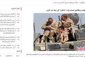 Mỹ vừa tuyên bố rút quân, 5 lính Anh thiệt mạng vì bị IS 'đánh lén'