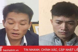 Công an TX Hồng Lĩnh bắt giữ nhiều đối tượng trốn nã