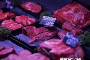 Nhật Bản dỡ bỏ lệnh cấm nhập khẩu thịt bò Anh sau 23 năm
