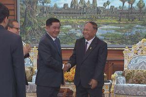 Đoàn đại biểu cấp cao Ủy ban Kiểm tra Trung ương thăm, làm việc tại Campuchia