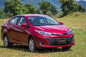 Khách hàng Việt mua 3.600 xe Toyota Vios trong tháng 12/2018
