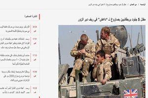 5 binh sĩ Anh thiệt mạng vì trúng tên lửa IS