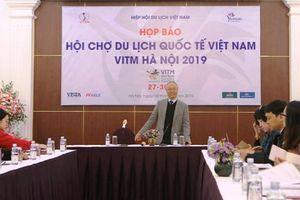 Hội chợ du lịch quốc tế Việt Nam 2019 diễn ra từ 27-30/3