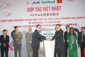 Nutifood đưa sản phẩm dinh dưỡng trẻ em số 1 Nhật Bản về Việt Nam