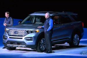 Ford Explorer 2020 thay đổi toàn diện, giá từ 32.800 USD