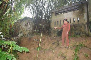 Thừa Thiên Huế: 'Cát tặc' lộng hành, bờ sông Bồ sạt lở trầm trọng