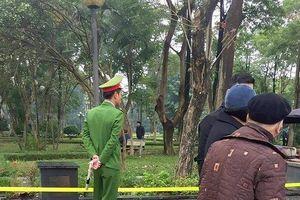 Thông tin mới nhất về vụ người phụ nữ tử vong bất thường ở vườn hoa Nguyễn Trãi
