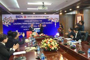 Ngân hàng BIDV dành 20 tỷ đồng tặng 40.000 suất quà cho người nghèo trên cả nước