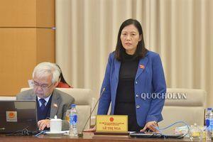 Ủy ban Thường vụ Quốc hội cho ý kiến về một số vấn đề còn ý kiến khác nhau của dự án Luật Thi hành án hình sự (sửa đổi)