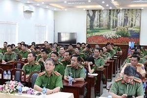 Học viện Chính trị CAND khai giảng lớp đào tạo cao cấp chính trị