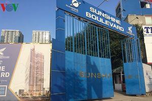 Dự án Sunshine Boulevard Thanh Xuân 'thâu tóm' đất ở của 16 hộ dân