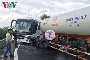 Lại tai nạn giao thông trên đèo Hải Vân