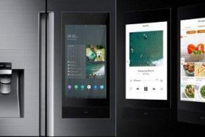 CES 2019: Samsung giới thiệu tủ lạnh Family Hub thế hệ mới