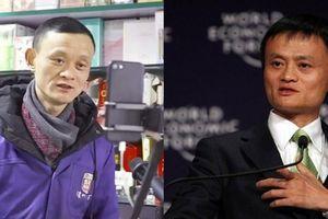 Tiệm tạp hóa đắt hàng vì ông chủ giống Jack Ma