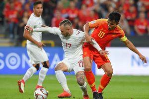 Thua đậm Trung Quốc, Philippines tiến gần suất bị loại khỏi Asian Cup 2019