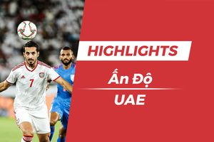 Highlights Asian Cup 2019: UAE 2-0 Ấn Độ