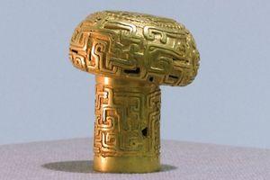 Tìm thấy quyền trượng vàng 2.500 năm tuổi ở Trung Quốc