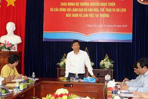 Bộ trưởng Nguyễn Ngọc Thiện: Các trường đào tạo thuộc Bộ VHTTDL phải dẫn đầu về chất lượng
