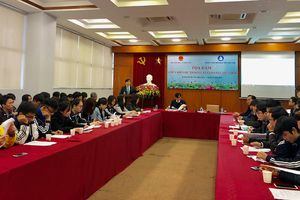 Học sinh, sinh viên góp ý dự thảo Luật Giáo dục (sửa đổi)