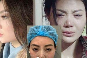 Lộ ảnh 'Lan cave' Thanh Hương sửa mũi sau phim Quỳnh búp bê