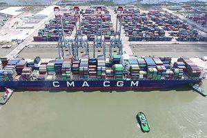 Cảng quốc tế Cái Mép đủ điều kiện đón siêu tàu container