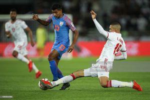 UAE thắng Ấn Độ khiến cục diện bảng A vô cùng gay cấn