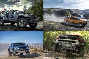 Top 10 mẫu xe ôtô địa hình ấn tượng nhất năm 2019