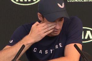 Andy Murray bật khóc khi nói về quyết định giải nghệ