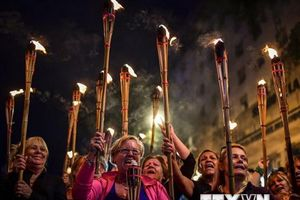 Argentina biểu tình lớn phản đối chính sách 'thắt lưng buộc bụng'