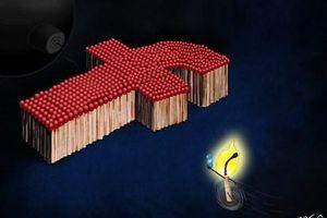 Giải Biếm họa báo chí Việt Nam: 'Nóng' chuyện ứng xử trên mạng xã hội