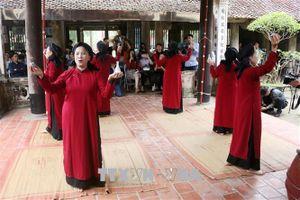 Hát Xoan làng cổ - sản phẩm đặc trưng hút du khách đến với Phú Thọ