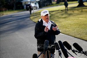 Tổng thống Donald Trump đánh giá tích cực về đàm phán thương mại Mỹ-Trung