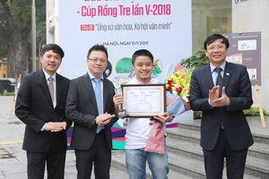 Trao giải thưởng 'Giải biếm họa báo chí Việt Nam - Cúp Rồng Tre lần thứ V-2018'