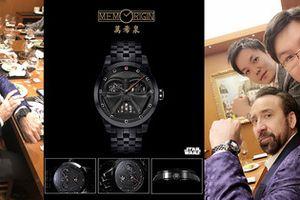 Diễn viên điện ảnh Nicolas Cage ấn tượng với sê-ri đồng hồ Star Wars của Memorigin