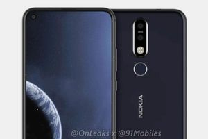 Lộ diện hình ảnh Nokia 8.1 Plus với màn hình 'khuyên tai'