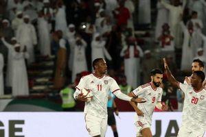 ĐTQG UAE giành chiến thắng đầu tay tại Asian Cup 2019: Cuộc đua bảng A thêm khốc liệt