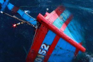 10 ngư dân mất tích sau khi tàu cá gặp nạn trên biển Vũng Tàu