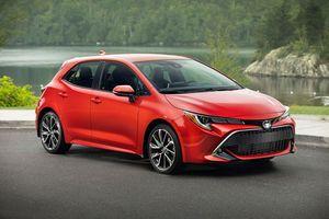 Top 10 xe hơi tốt nhất năm 2019: Toyota Corolla Hatchback góp mặt