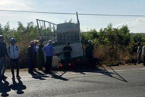 Gia Lai: Va chạm với xe tải, 3 chị em tử nạn trên đường lên thành phố
