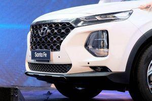 Giá lăn bánh các phiên bản Hyundai SantaFe 2019