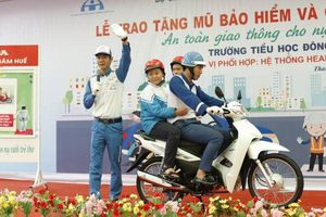 Sẽ có hơn 700 nghìn học sinh tiểu học được thực hành về an toàn giao thông