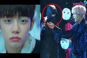 Dù chưa chính thức ra mắt, thành viên của nhóm nhạc đàn em TxT đã được lên sân khấu biểu diễn cùng BTS
