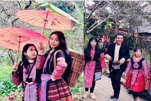 Gia đình MC Quyền Linh gây bão với bộ ảnh tuyệt đẹp ở Mộc Châu