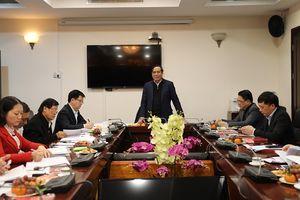 Hội nghị Ban Chấp hành Đảng bộ cơ quan Ban Tổ chức Trung ương